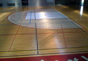 Traçage de zones et raquettes de Basket-ball